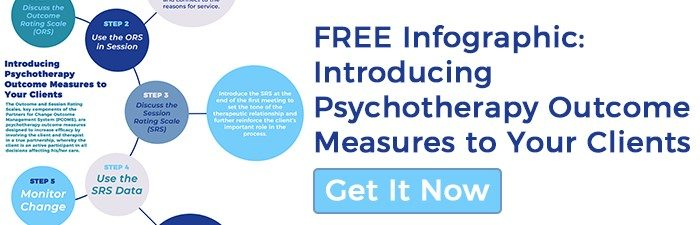 Introducing Psychotherapy Outcome Measures to Your Clients | FREE Infographic | Better Outcomes Now